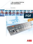 AC500 Scalable PLC Customized Automation
