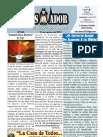 """2012-08-12 """"EL CONQUISTADOR"""" Boletín Semanal de La casa de Todos"""