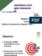 3.3 Model de Prezentare de Caz de Terapie Intensiva (1)