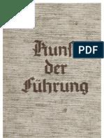 Brausse, Hans - Kunst Der Fuehrung (1937, 81 S., Scan, Fraktur)