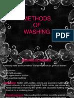 Methods of Washing