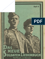 Breuer, Franz - Das Neue Soldaten-Liederbuch - Band 1 (84 S., Scan)