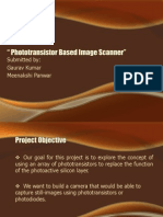 Phototransistor Based Image Scanner1
