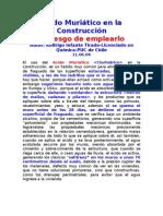 Ácido Muriático en la Construcción