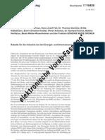 DRS 17/10420, Kleine Anfrage, Grüne, Rabatte Strom- & Energie-Industrie