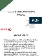 XEROX'S  BENCHMARKING MODEL