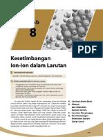 8. Keseimbangan Ion-Ion Dalam Larutan