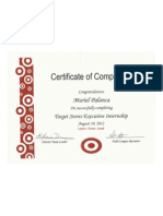 Target Certificate