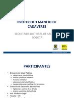 Presetacion protocolo cadaveres