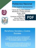 Presentacion Beneficios Sociales y Costos Sociales