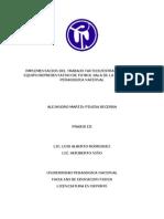 PROBLEMÁTICA tactica y estrategia futbol sala praxis 3 final