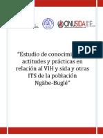 Estudio de conocimientos, actitudes y prácticas en relación al VIH y sida y otras ITS de la población Ngäbe-Buglé