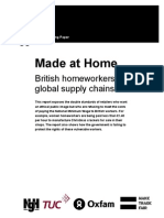 British Homeworkers in Global Supply Chains