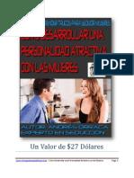 Como Desarrollar Una Personalidad Atractiva Con Las Mujeres PDF