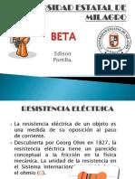 Resistencia electrica.