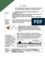 Nota Padat Fizik F5 Waves