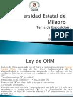 Ley de OHM - Ley de Kirchhoff