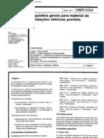 NBR 5354 - Requisitos Para Instalacao Eletrica Predial