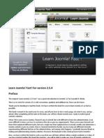 Learn Joomla Fast 2.5.4