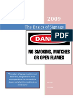 The Basics of Signage