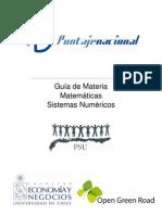 1.-Sistemas Numéricos