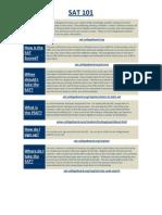 SAT 101 PDF