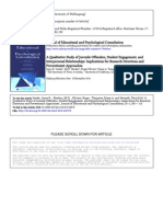 A Qualitative Study of Juvenile Offenders, Student Engagement, And