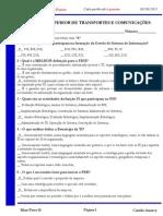 Aula 04 - Mini-Teste 01 - Versão Professor