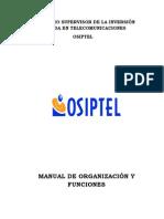 Osiptel MOF