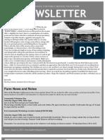 Newsletter 8.11