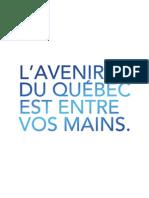 Programme électoral du PQ