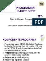 2 Uvod u Koriscenje Programskog Paketa SPSS