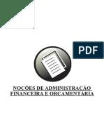 Execução Administra o Financeira
