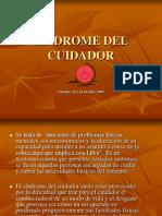 SINDROME DEL CUIDADOR presentación1