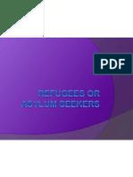 refugees or asylum seekers