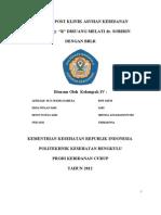 Laporan Post Klinik Asuhan Kebidanan Pada by Ny Ratihhhhh