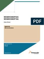 Manual de Datos MC68HC08GP32A