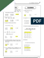 examen general 1ro de secundaria