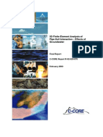 3d Finiter Element Analysis of Pipe Soil Interaction