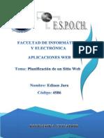 Planificacion Sitio Web