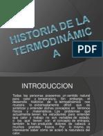 Historia de la termodinámica