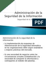 Administración de la Seguridad de la Información