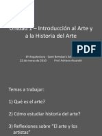 Introduccion Al Arte y a La Historia Del Arte