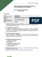 Acta de Acuerdo Pedagogico Informática 30146