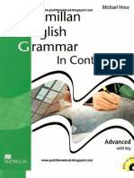 Macmillan English Grammar in Context Advanced With Key