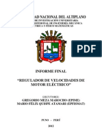 INFORME FINAL - REGULADOR DE MOTORES ELÉCTRICOS