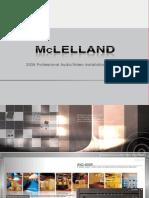 McLelland 2008 Professional AV Installation System