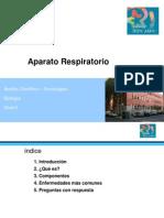 Clase-Presentación Aparato Respiratorio
