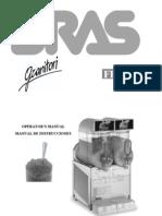 Manual Maquina de Frappe