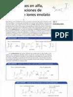 2cap 22 Sustituciones en Alfa y Condensaciones de Enoles y de Iones Enolato